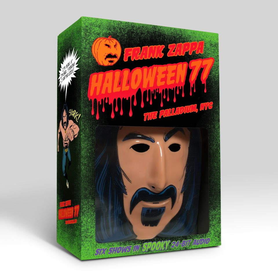 Frank Zappa S Legendary Halloween Nyc 1977 Residency To Be